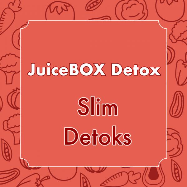 Juice Box Slim Detox (3 içecek+1 salata+2 ara öğün)