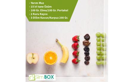 Yaz Meyveleri ve Porsiyon Miktarları